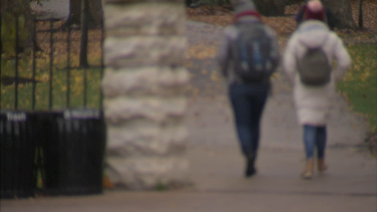 A safety alert was sent out to Northwestern students overnight. University police believe thieves are targeting female students walking alone.
