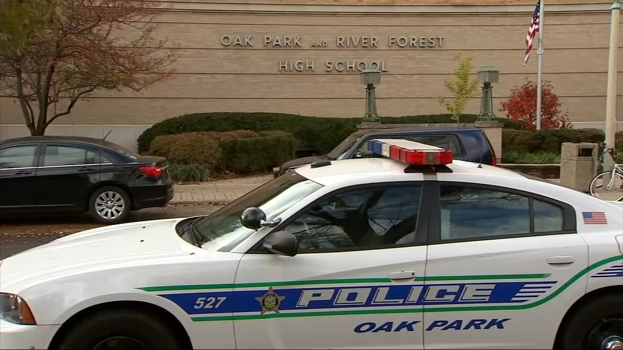 A juvenile is being questioned as a person of interest after an anti-Semitic image was electronically distributed to Oak Park River Forest High School students during an assembly F