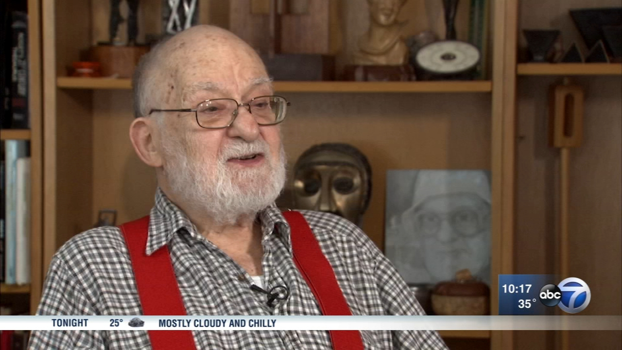 Bernie Bluestein, 95, is a Ghost Army veteran. He was an 18-year-old art student when he joined the super-secret Ghost Army during World War II.