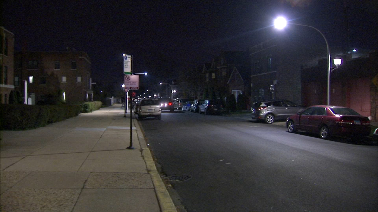 A woman was sexually assaulted after a home invasion in the Brighton Park neighborhood Sunday morning.
