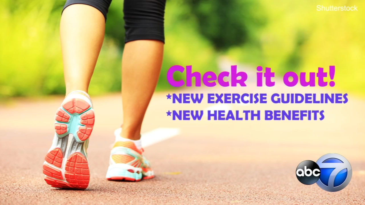 New federal guidelines on physical activity stress that any amount and any type of exercise helps health.