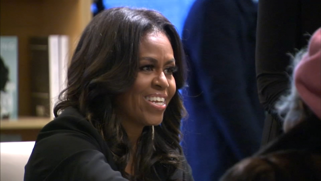 Former First Lady Michelle Obama is kicking off the tour for her new book Becoming in Chicago Tuesday.