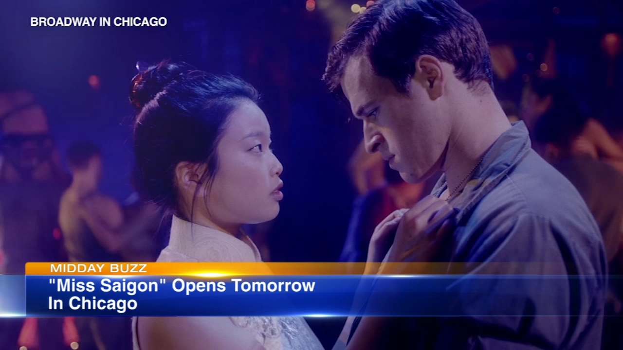 Miss Saigon, a love story turned into a legendary musical, opens Wednesday in Chicago at the Cadillac Palace Theater.