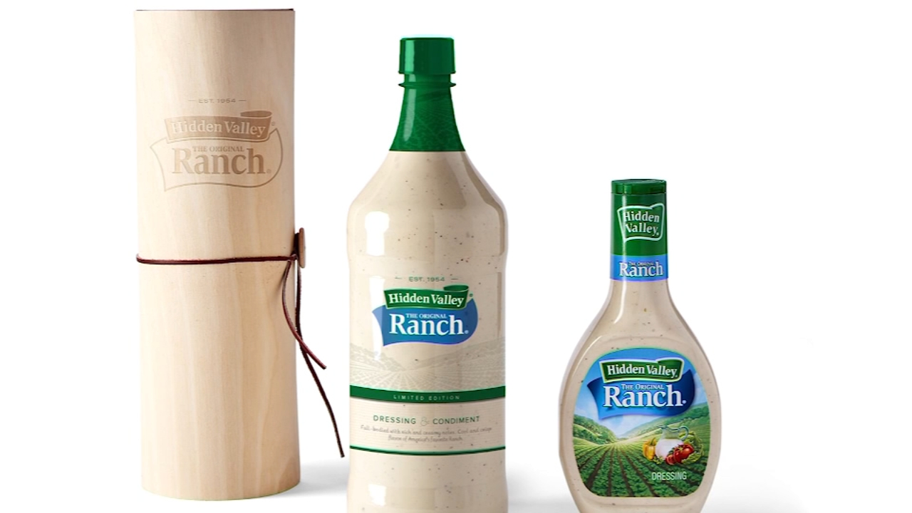 Its the perfect gift for the person who puts ranch dressing on everything.