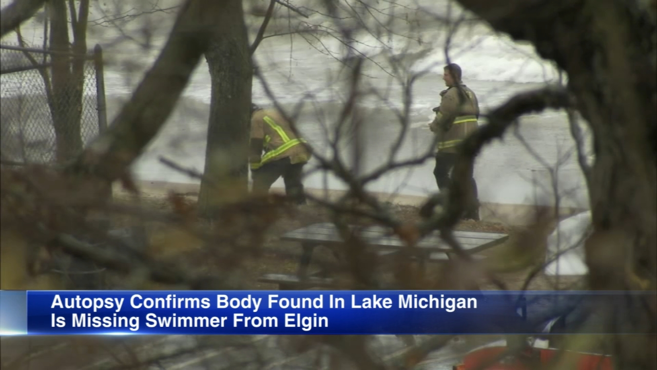 Authorities have identified the a body pulled from Lake Michigan Saturday in Highland Park as a missing Elgin woman.