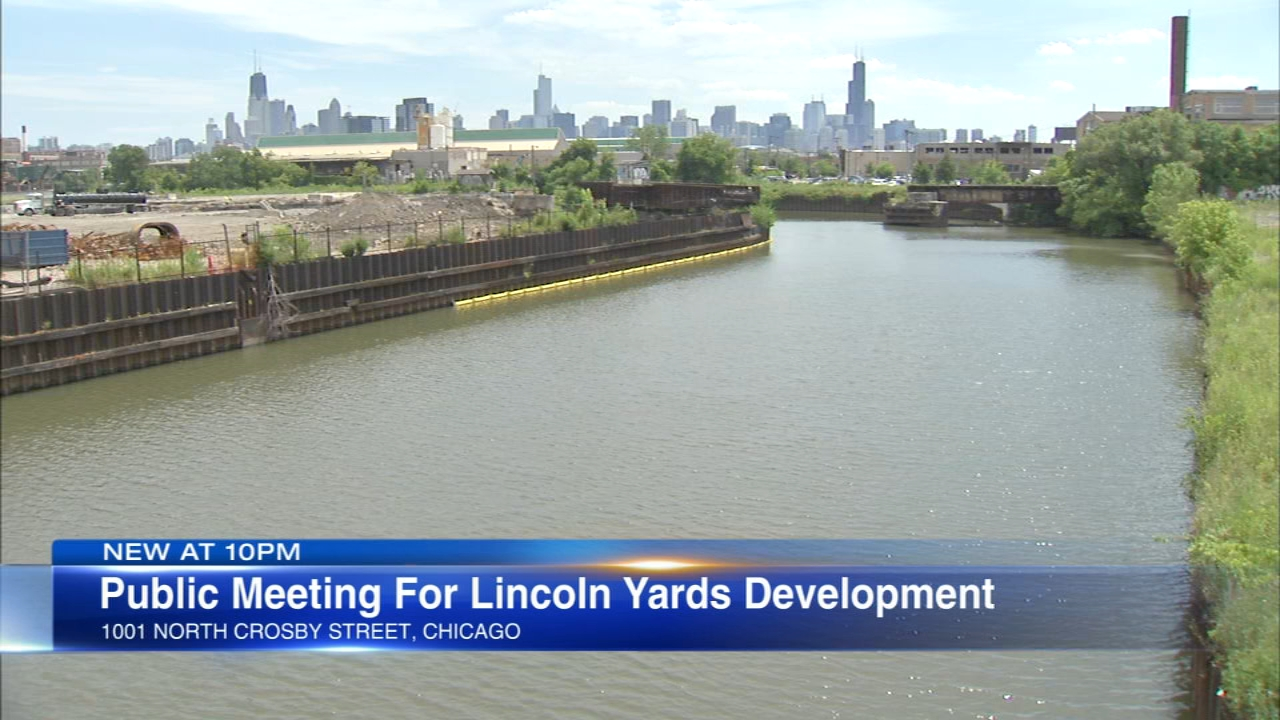 The public spoke out about the proposed Lincoln Yards development Wednesday night.