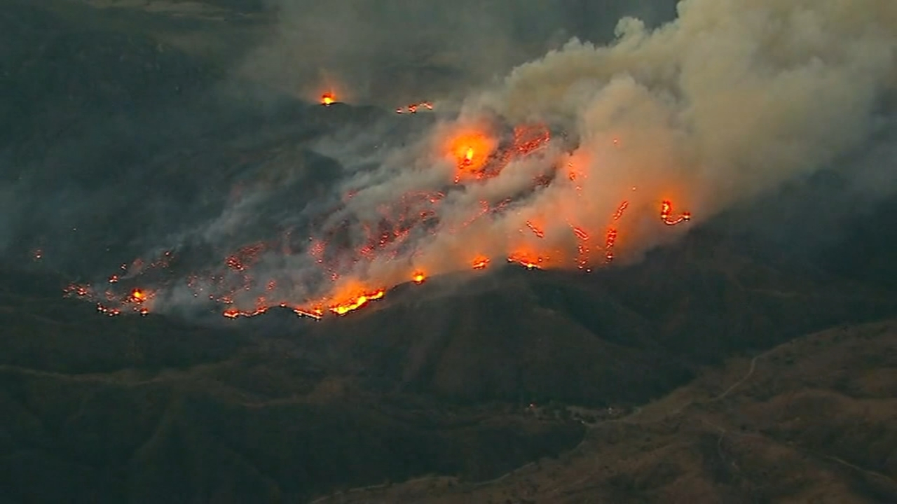 Former White Sox pitcher and radio announcer Ed Farmer said wildfire flames overtook his Southern California neighborhood, and he and his family were barely able to escape.