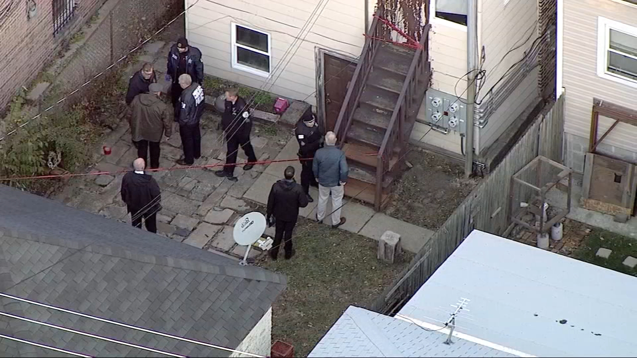The man was shot during a confrontation between police and a gunman just after 3 p.m. in the 600-block of North Lawndale, according to the Chicago Police Department.