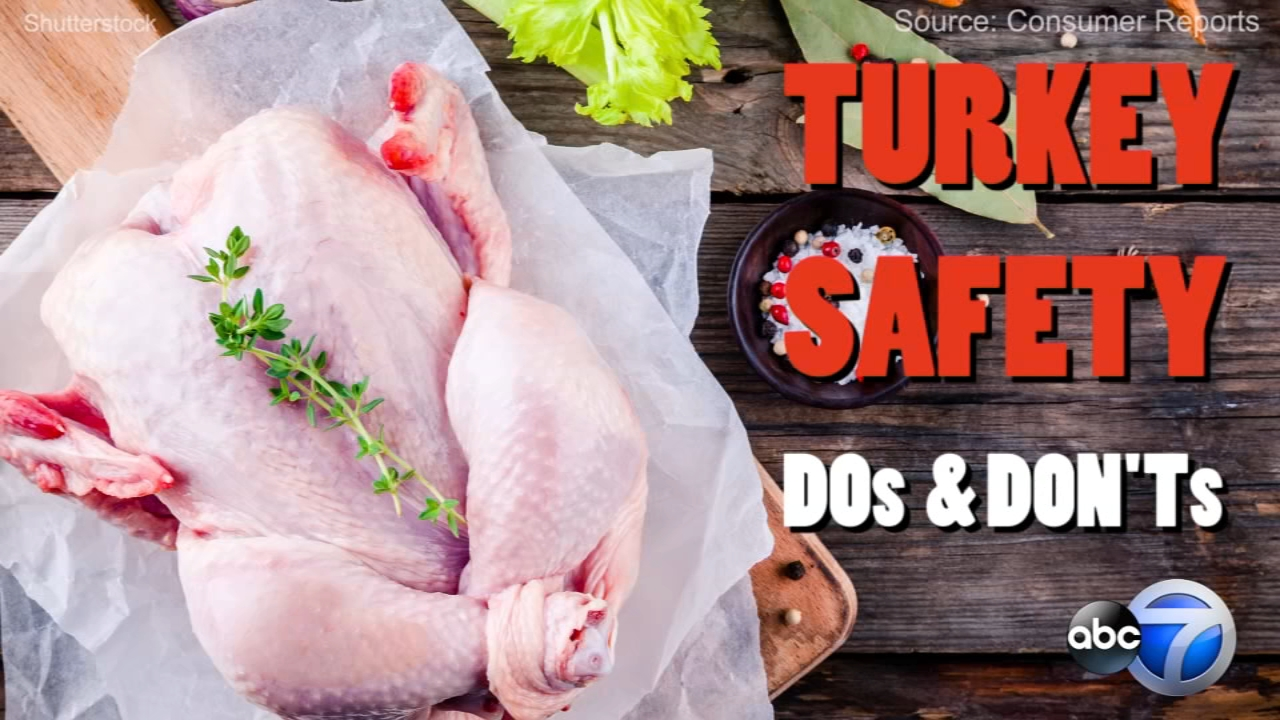 Before you cook a turkey this year, follow these tips to help you safely prepare your meal.