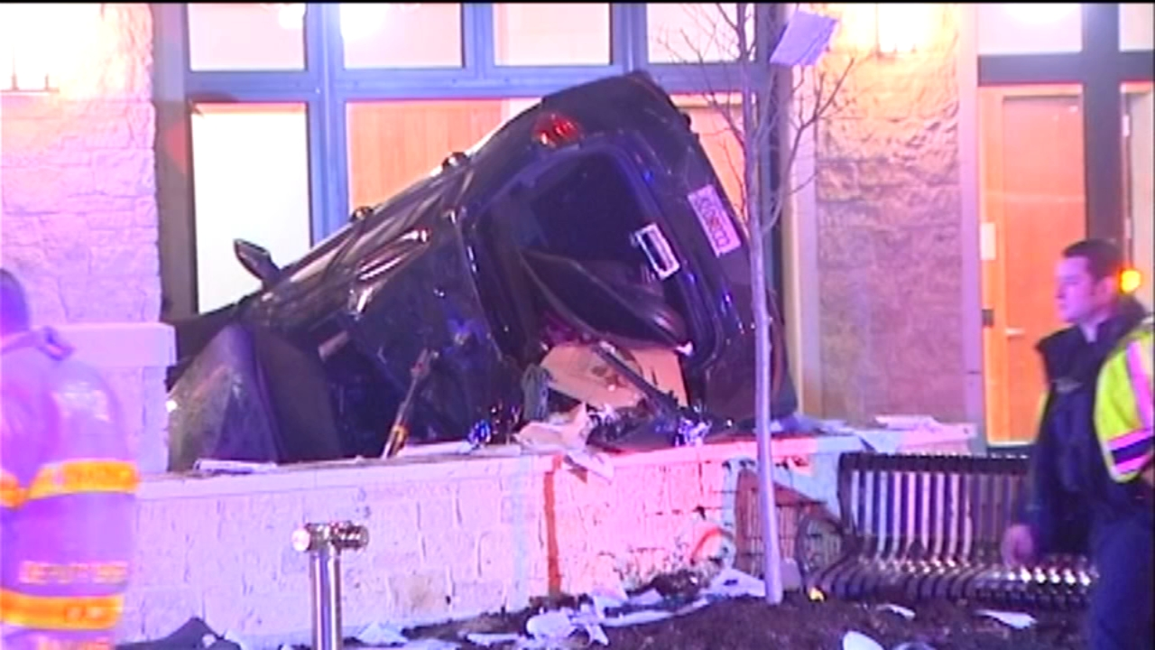 Arlington Heights police now say drugs were a factor in a crash that damaged their new police station.