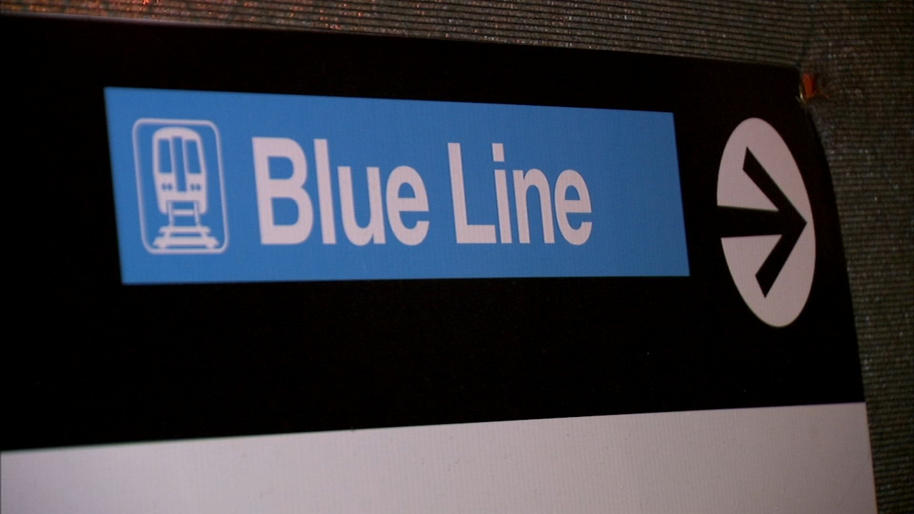 Police are looking for a man who inappropriately touched a child on the Blue Line Thursday morning.
