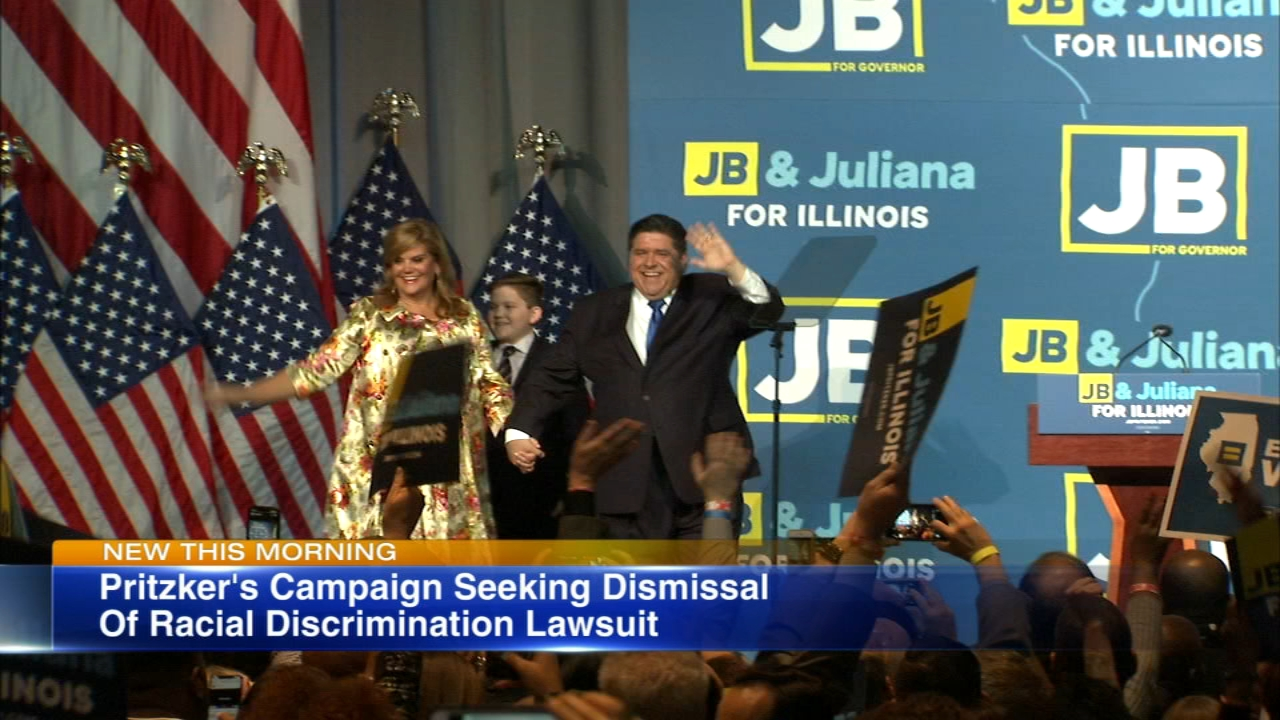 Lawyers are fighting to have a racial discrimination lawsuit against JB Pritzkers campaign dismissed.