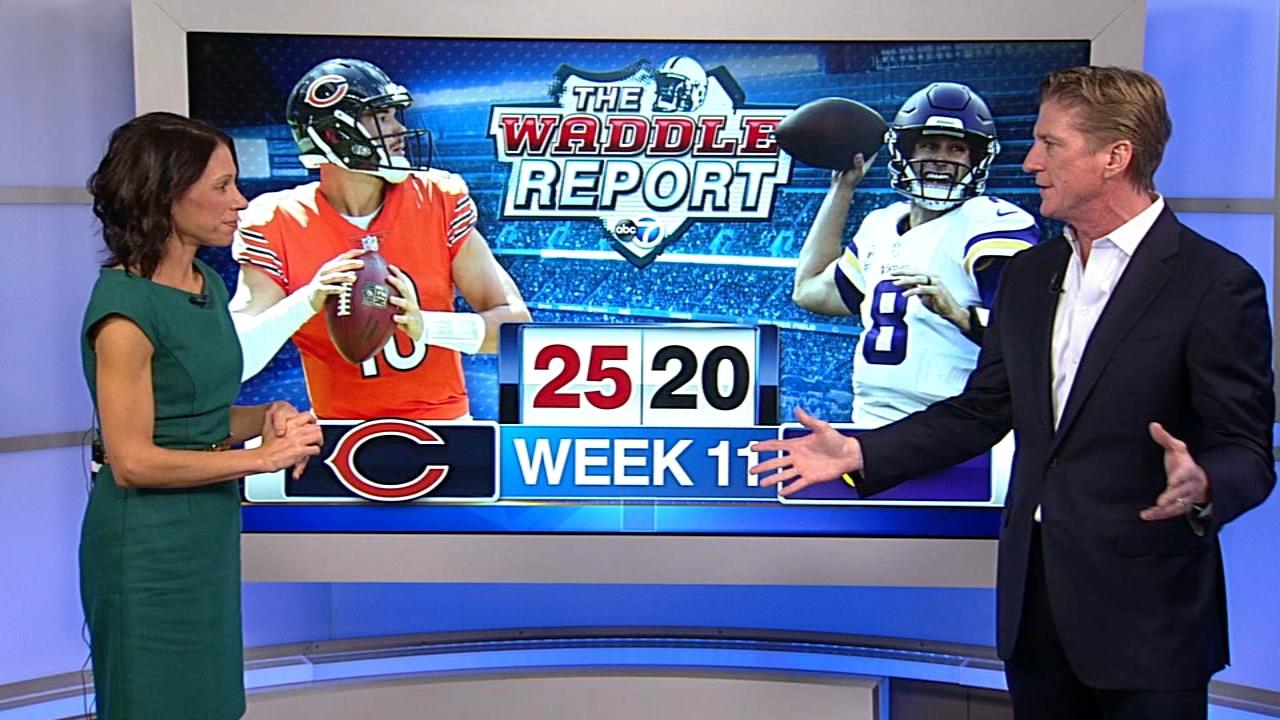 Waddles World: Bears beat Vikings, 25-20