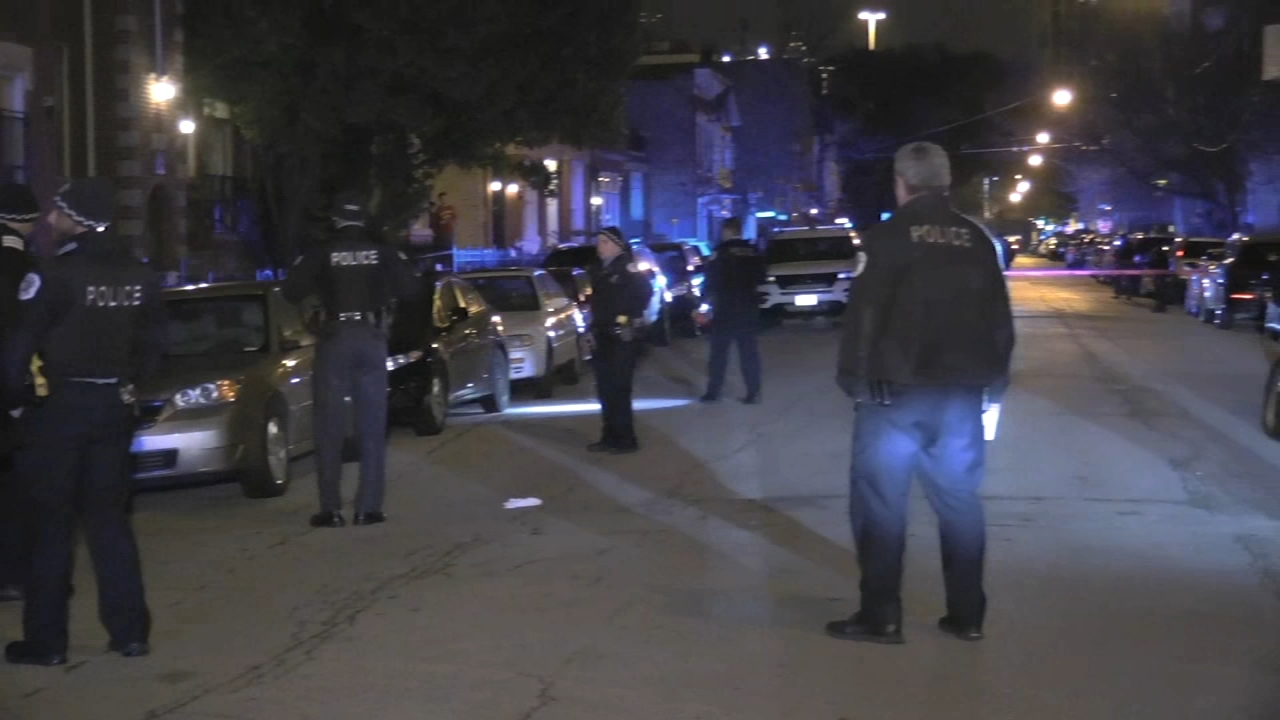 A man was shot to death late Saturday in the West Town neighborhood.