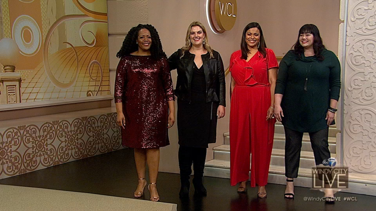 Here are some great holiday looks for curvy girls.