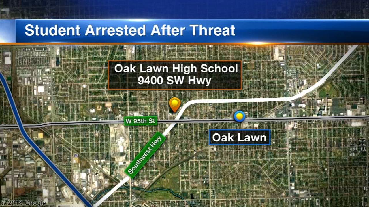 A 15-year-old boy has been charged with making a social media post threatening a shooting at Oak Lawn Community High School.