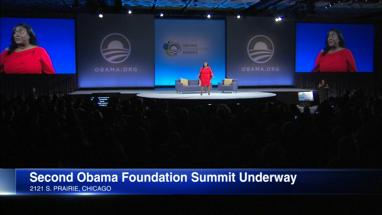 Former President Barack Obama will be in town Monday for the second summit of the Obama Foundation.
