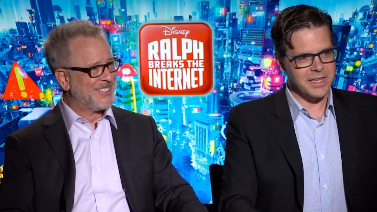 Directors Rich Moore and Phil Johnston talked about their Wreck-It Ralph sequel, which is called Ralph Breaks the Internet.