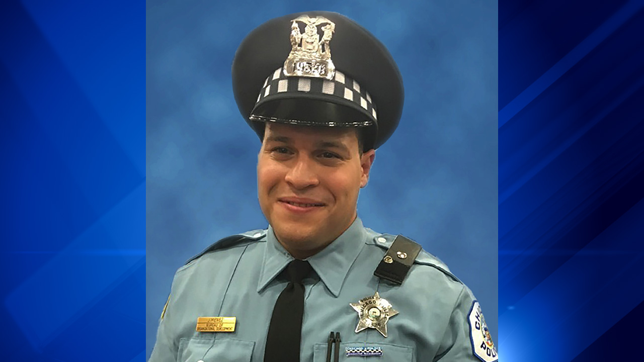 Chicago Police Officer Samuel Jimenez.