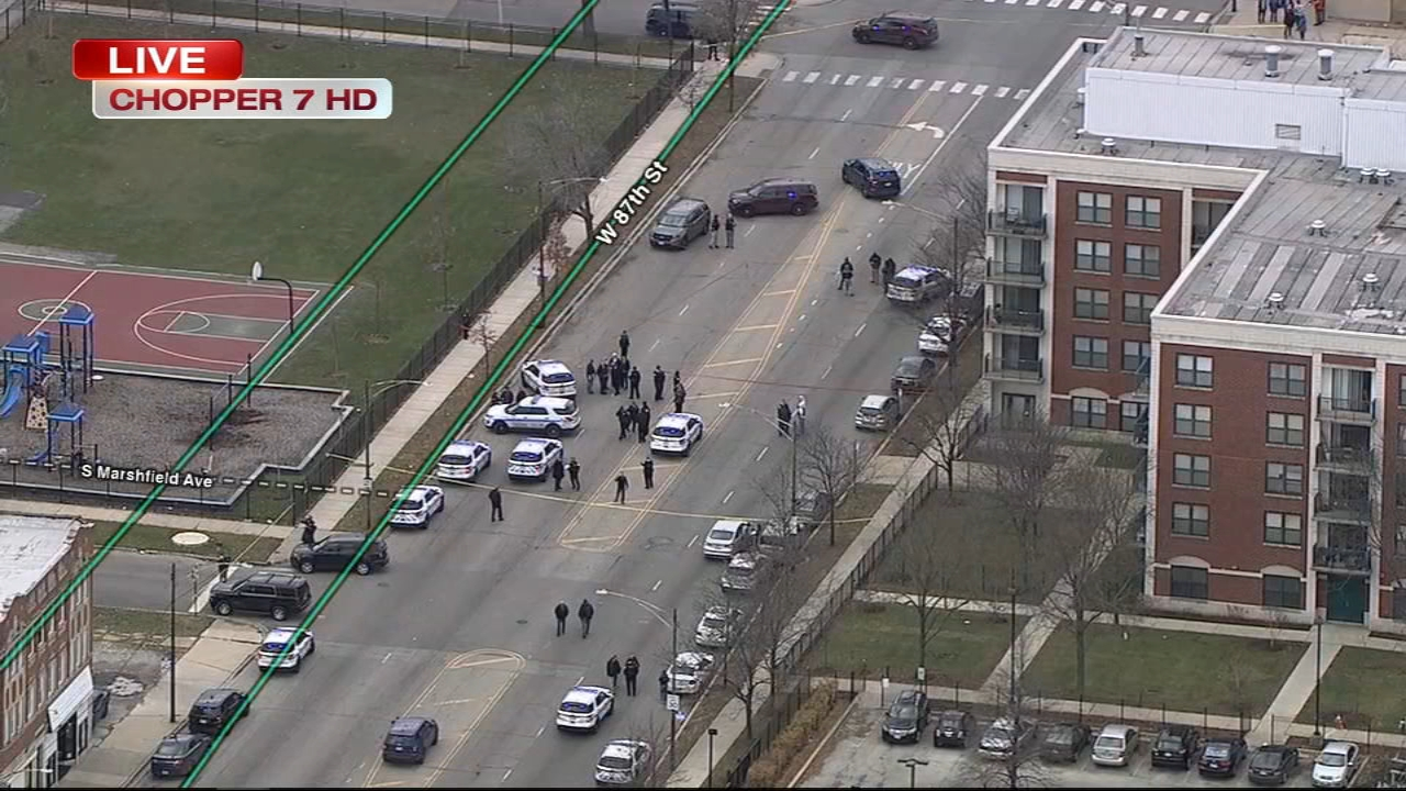 Shots were fired at a Chicago police officer on the citys South Side late Tuesday morning.
