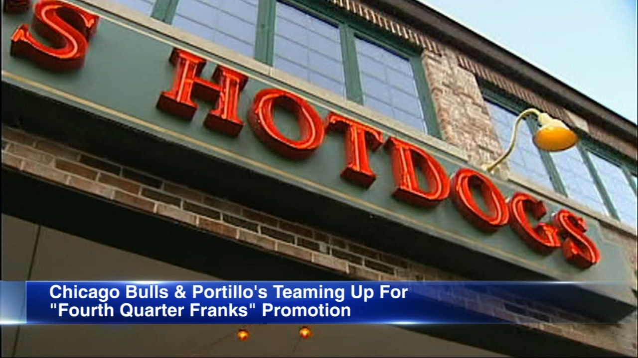 Fourth Quarter Franks promotion gives fans a chance to get free food.