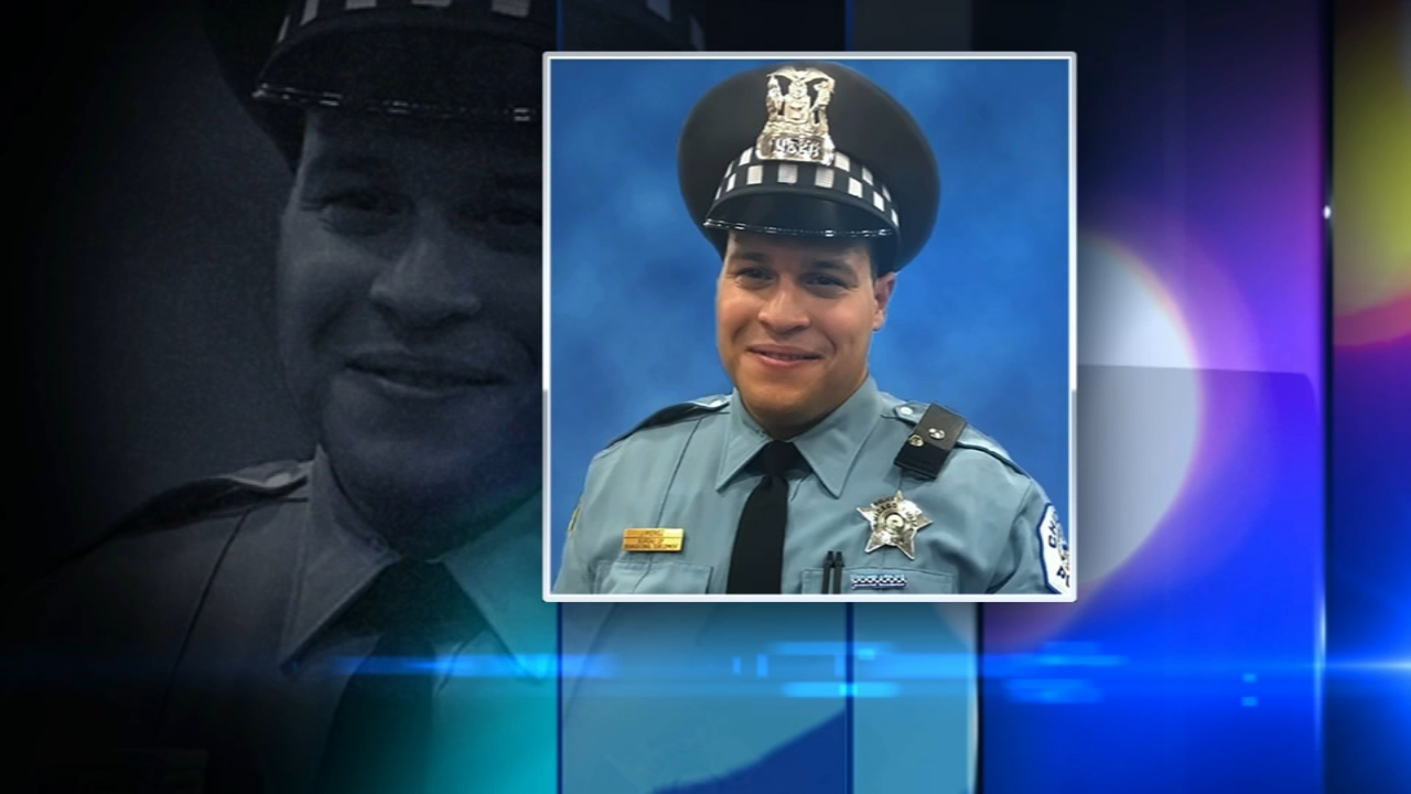 Family and friends are mourning Chicago Police Officer Samuel Jimenez, who was killed in the shooting at Mercy Hospital.