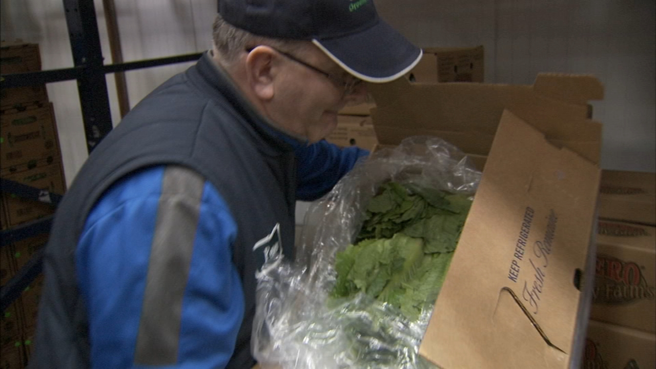 A Chicago food service wholesaler is wondering whos going to pay for the hundreds of thousands of dollars of romaine lettuce he now has to throw out.