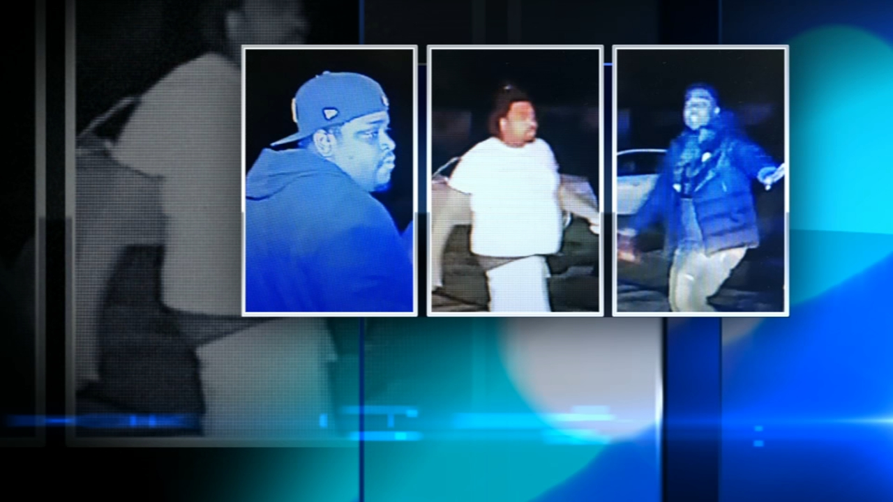 Cook County Sheriffs Police are looking for three people who may have information about a bar shooting in Robbins.