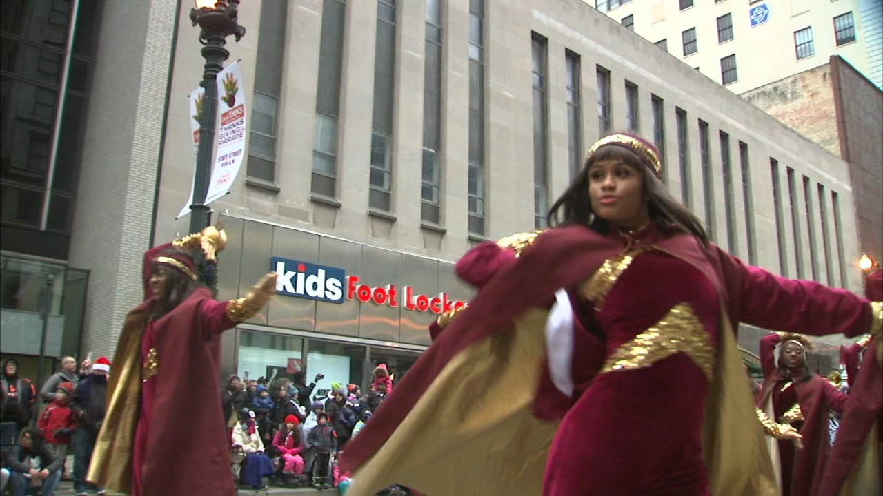 State Street was crowded Thursday morning, and filled with the sights and sounds of a holiday tradition that many look forward to every year.