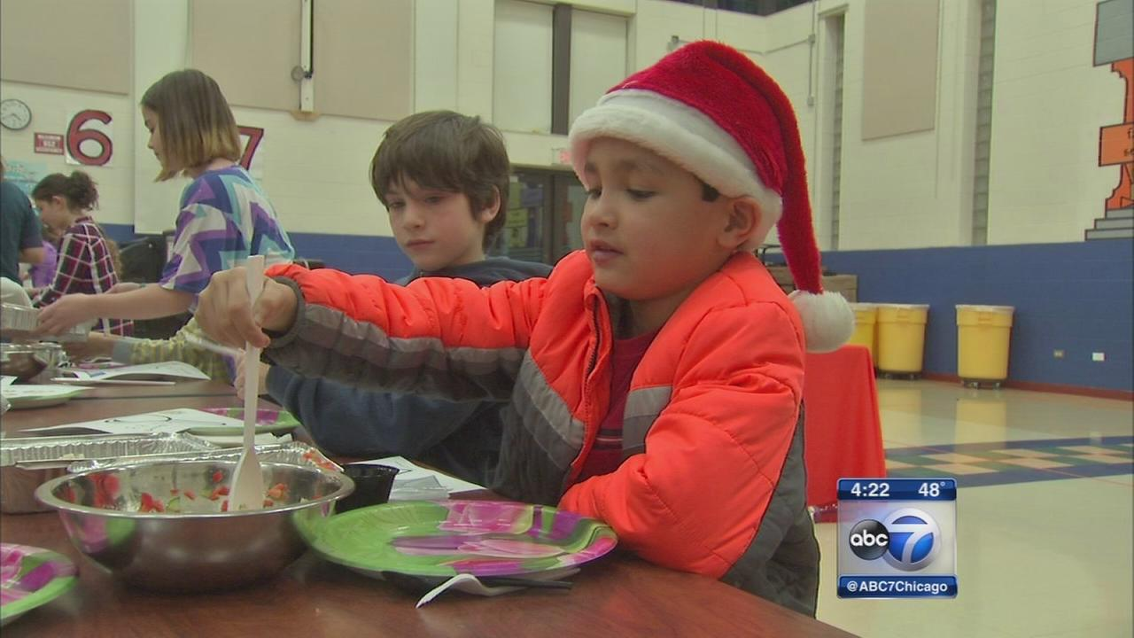 Food bank teaches nutrition