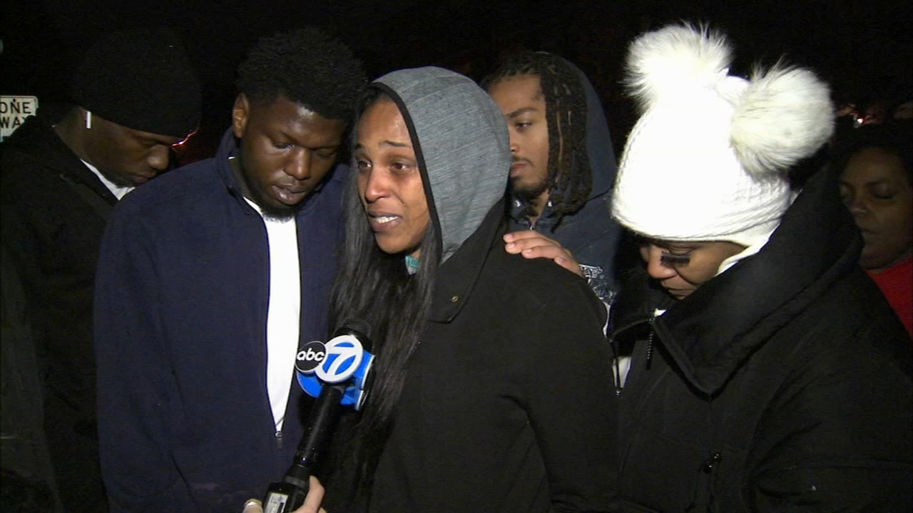 A vigil was held Friday for Quantis Smith, 22, who was shot and killed November 17.