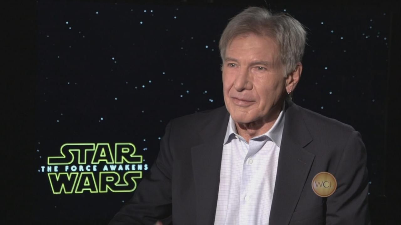 JJ Abrams, Harrison Ford talk Star Wars: The Force Awakens