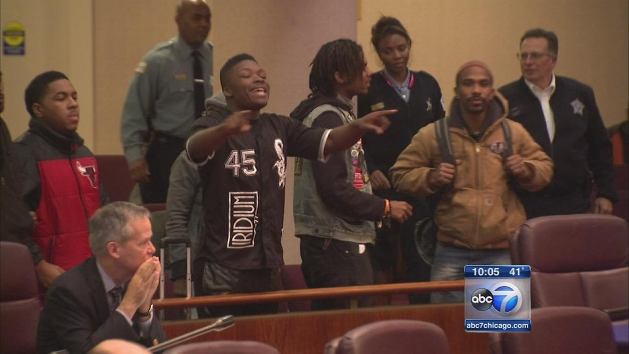 Protesters interrupt City Council hearing