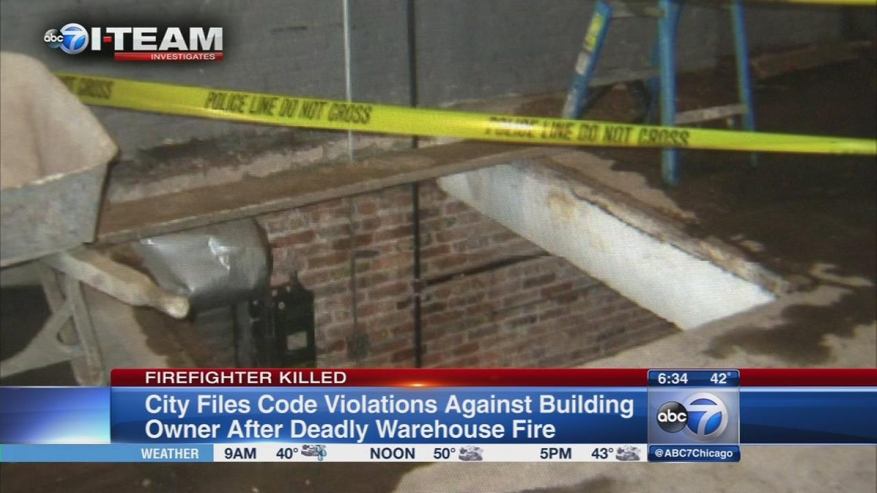 City aims to tear down building where firefighter died