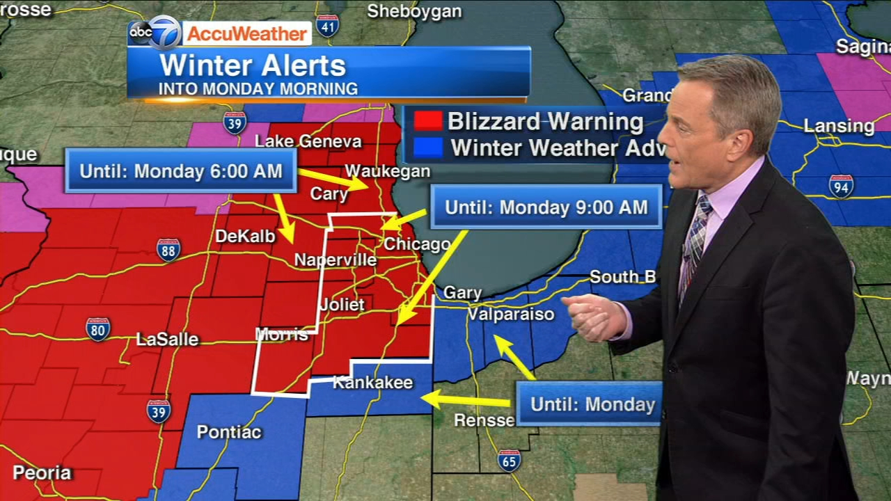 ABC7 meteorologist Phil Schwarzs 10 p.m. update on the Blizzard Warning for the Chicago area.