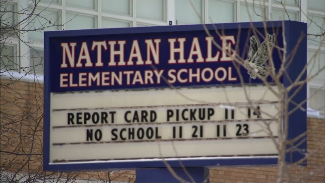 Hale Elementary School on Chicago's South Side was one of 20 Chicago Public Schools to lose power due to Mondays snowstorm.