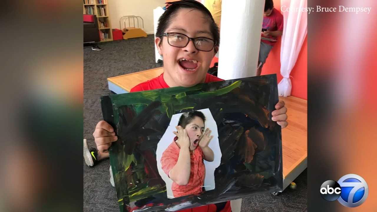 Art created by teenagers with Down syndrome will be featured at a Chicago art gallery this weekend.