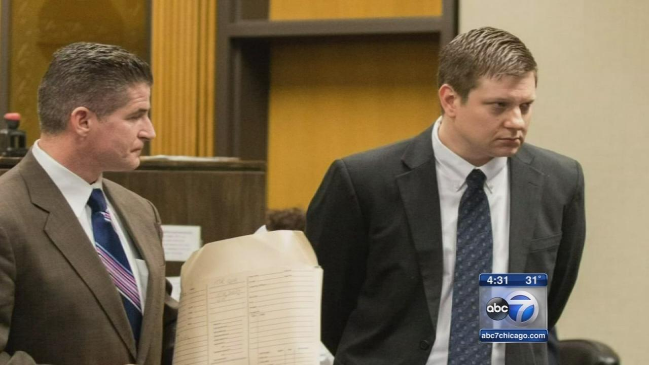 Jason Van Dyke appears in court