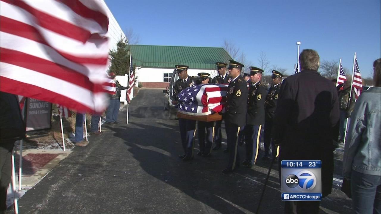 Funeral held for Army pilot killed in helicopter crash