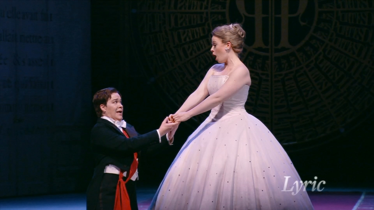 The Lyric Opera of Chicago debuts a new production of Cinderella Saturday night for the holidays.