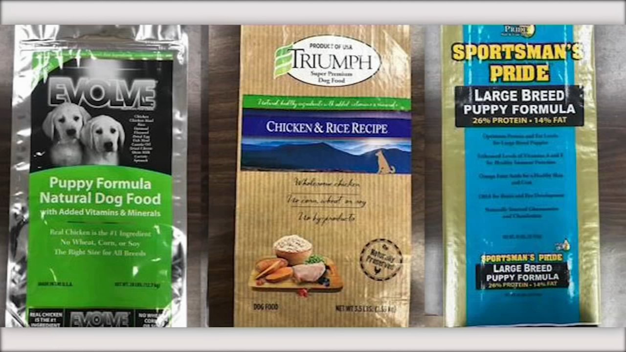 Theres a recall of some brands of dog food that have too much vitamin D, and could make your pet sick.