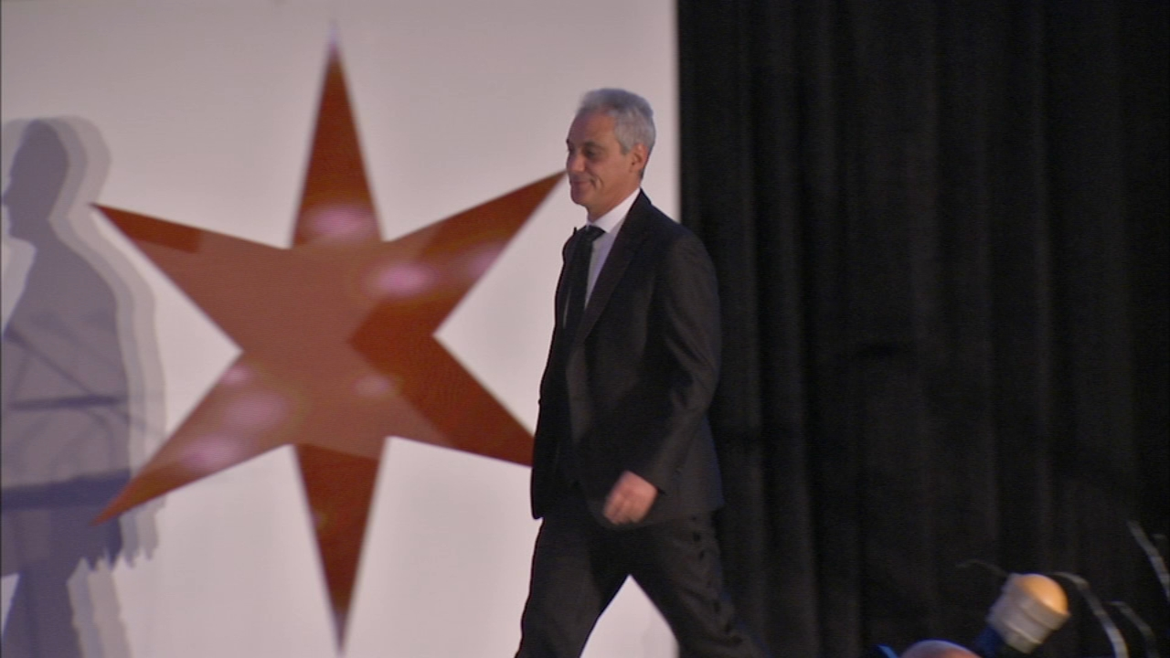 Mayor Rahm Emanuel received special recognition at the Chicago Consular Corps gala tonight.