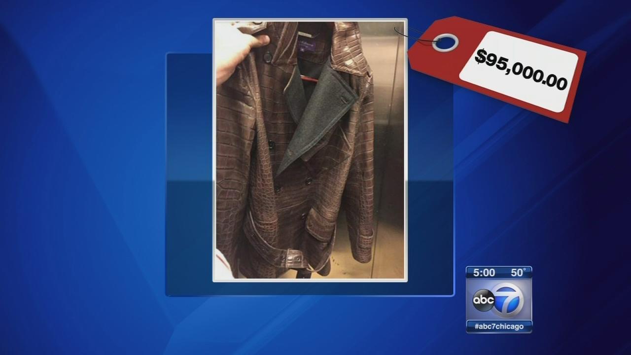 Police: Couple stole jacket worth $95K