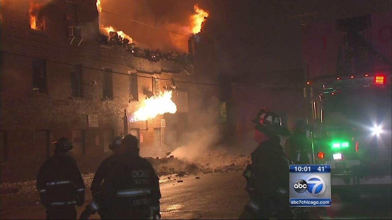 Warehouse fire put out in Avondale