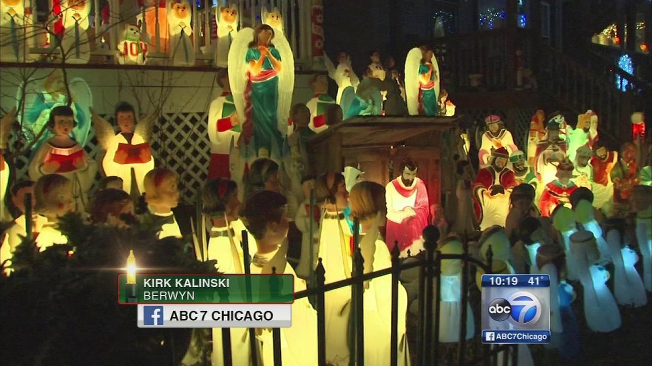 Holiday Lights: Kalinski home in Berwyn