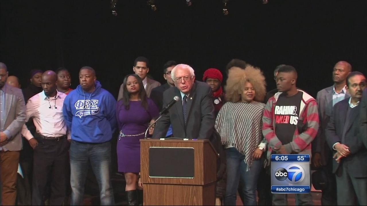 Bernie Sanders in Chicago