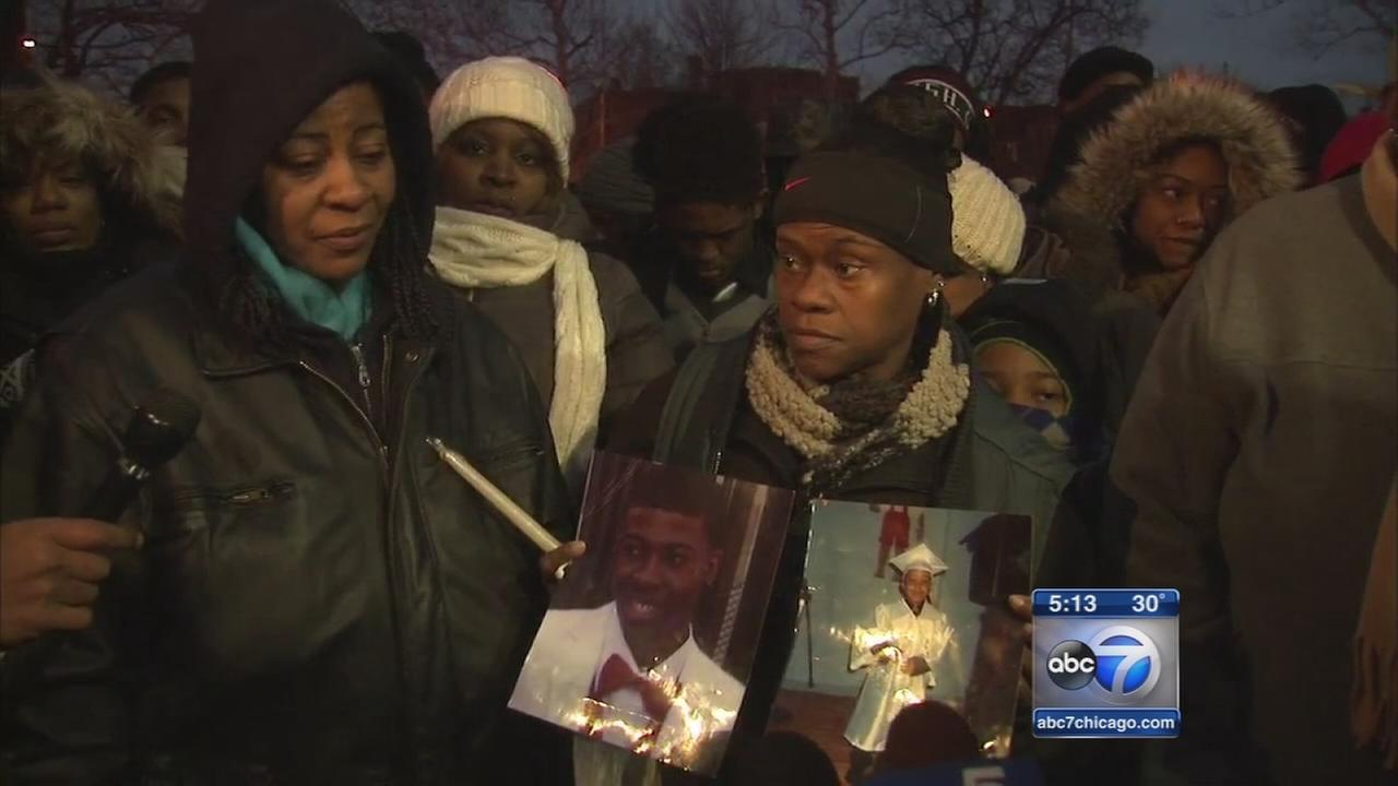 Vigil held for Quintonio LeGrier