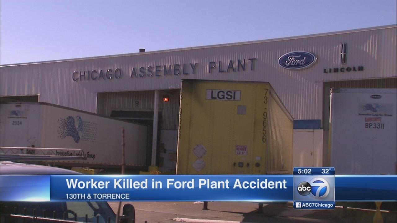 Worker killed at Ford Plant