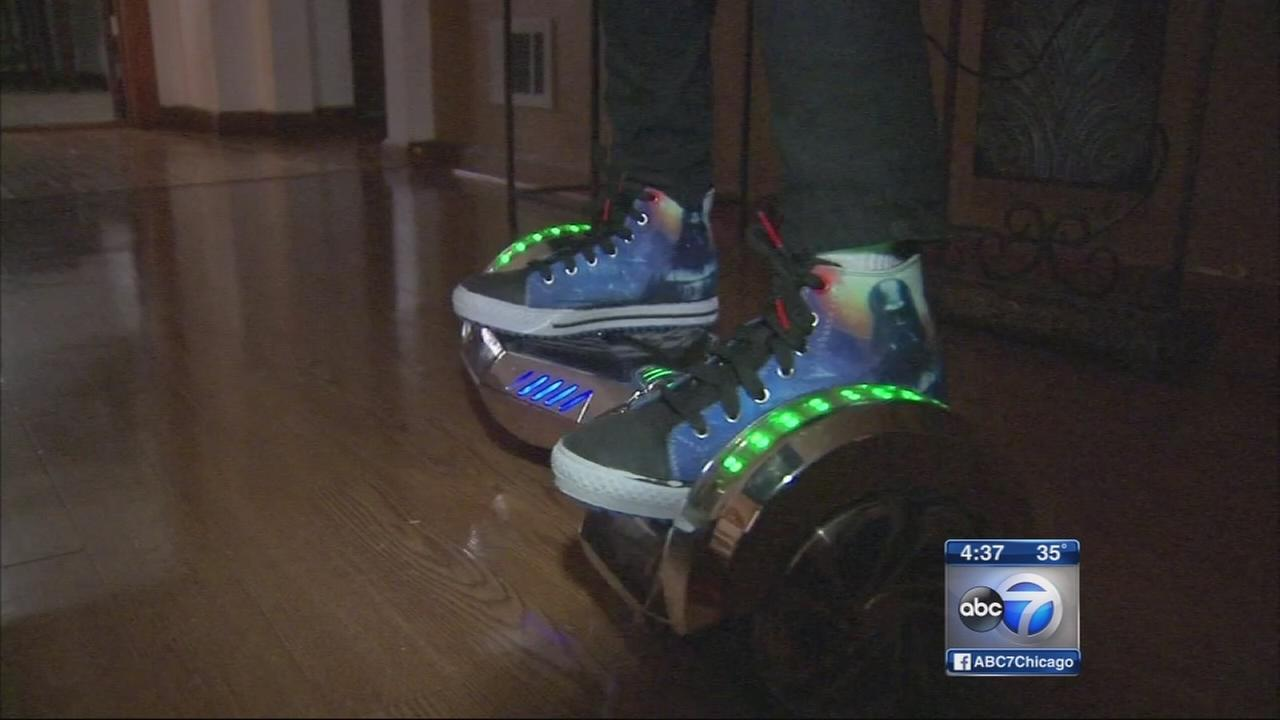 Hoverboards cause injuries