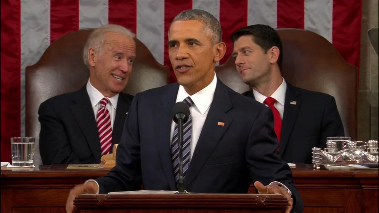 Obama focuses on curing cancer